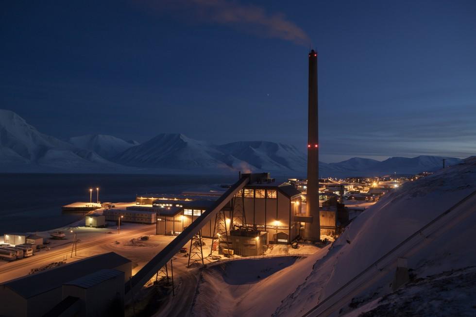 kullkraftverk longyearbyen