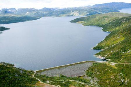 Strandvatn dam
