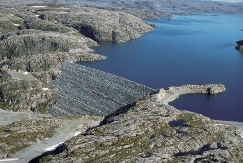 Oddatjønn dam