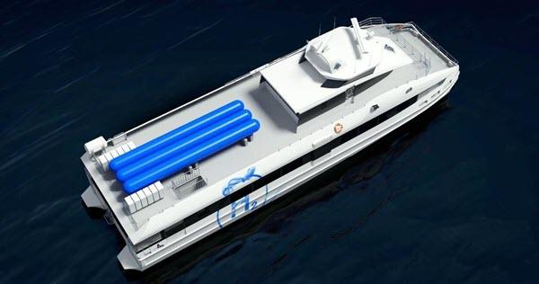 Hydrogenfartøy
