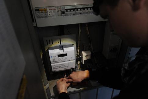 Aidon AMS måler montasje